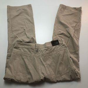Salomon Beige Mens Pants Size 34
